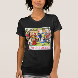 "The Queen of Hearts Tells Alice, ""I Am the Queen!"" T-Shirt"