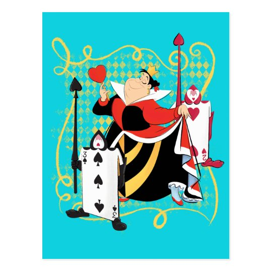 the queen of hearts the queen s card soldiers zazzle com