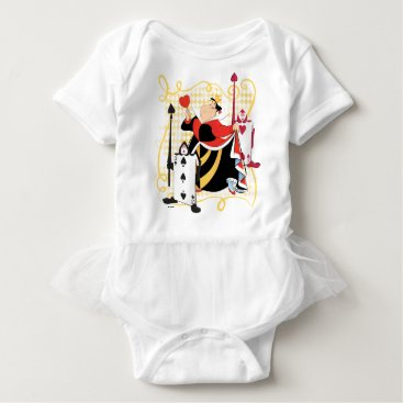 Disney Themed The Queen of Hearts | The Queen's Card Soldiers Baby Bodysuit