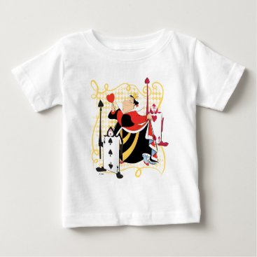 Disney Themed The Queen of Hearts | The Queen's Card Soldiers Baby T-Shirt