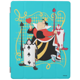 The Queen of Hearts | The Queen's Card Soldiers iPad Smart Cover