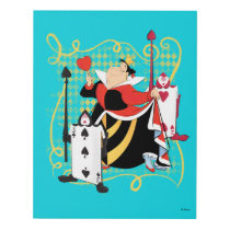 The Queen of Hearts | The Queen's Card Soldiers Panel Wall Art