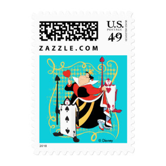 The Queen of Hearts | The Queen's Card Soldiers Postage