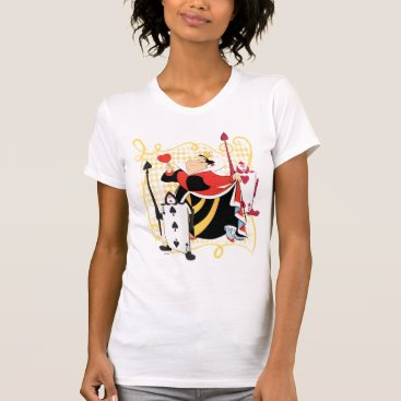Valentines Themed The Queen of Hearts | The Queen's Card Soldiers T-Shirt