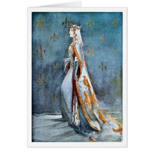 The Queen of Richard II Card