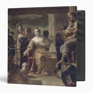The Queen of Sheba before Solomon 3 Ring Binder