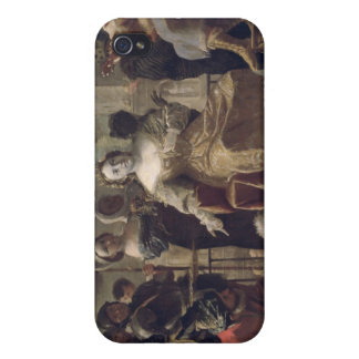 The Queen of Sheba before Solomon iPhone 4/4S Covers