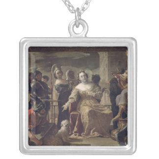 The Queen of Sheba before Solomon Necklaces