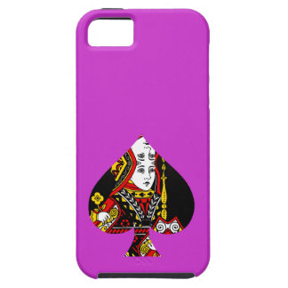 The Queen of Spades iPhone 5 Cover