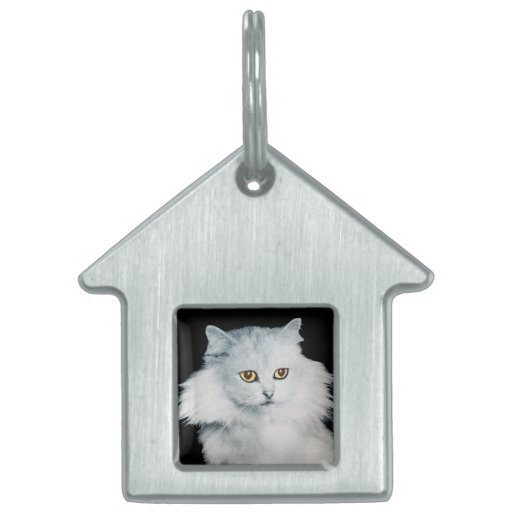 THE QUEEN OF WHITE CATS PET ID TAGS