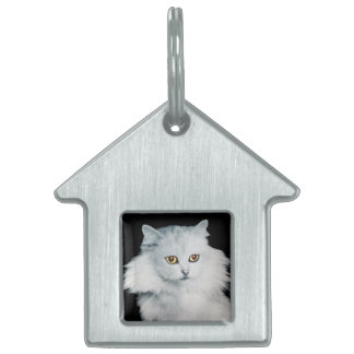 THE QUEEN OF WHITE CATS PET NAME TAG