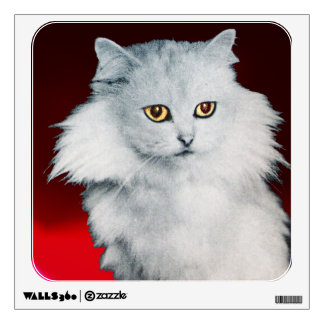 THE QUEEN OF WHITE CATS WALL STICKER