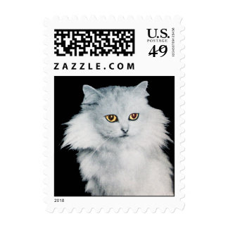 THE QUEEN OFF WHITE CATS POSTAGE