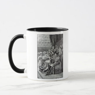The Queen Opening Parliament in 1846 Mug