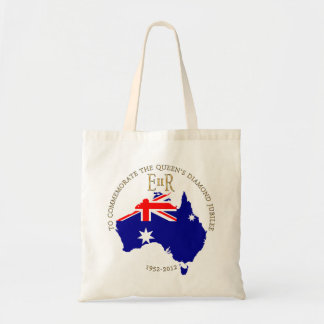The Queen s Diamond Jubilee - Australia Canvas Bag
