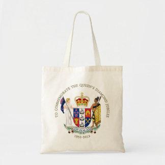 The Queen s Diamond Jubilee - New Zealand Canvas Bags