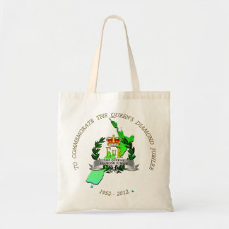The Queen s Diamond Jubilee - New Zealand Tote Bag