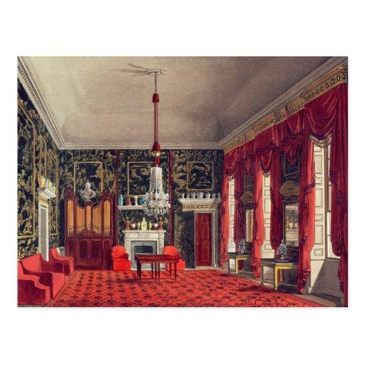 The Queen's Breakfast Room, Buckingham House Postcard