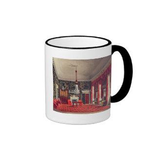 The Queen's Breakfast Room, Buckingham House Ringer Coffee Mug