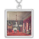 The Queen's Breakfast Room, Buckingham House Square Pendant Necklace