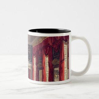 The Queen's Breakfast Room, Buckingham House Two-Tone Coffee Mug