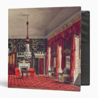 The Queen's Breakfast Room, Buckingham House Vinyl Binder