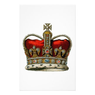 The Queen's Crown Stationery
