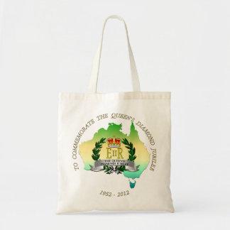 The Queen's Diamond Jubilee - Australia Tote Bags