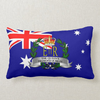 The Queen's Diamond Jubilee - Australia Lumbar Pillow