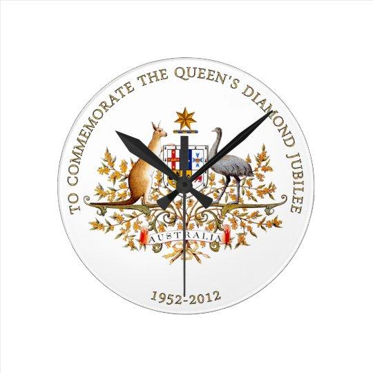 The Queen's Diamond Jubilee - Australia Round Clock