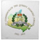 The Queen's Diamond Jubilee - Canada Napkin