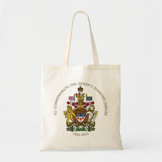 The Queen's Diamond Jubilee - Canada Tote Bag