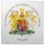 The Queen's Diamond Jubilee Cloth Napkins