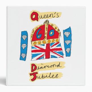 The Queen's Diamond Jubilee Emblem Binder
