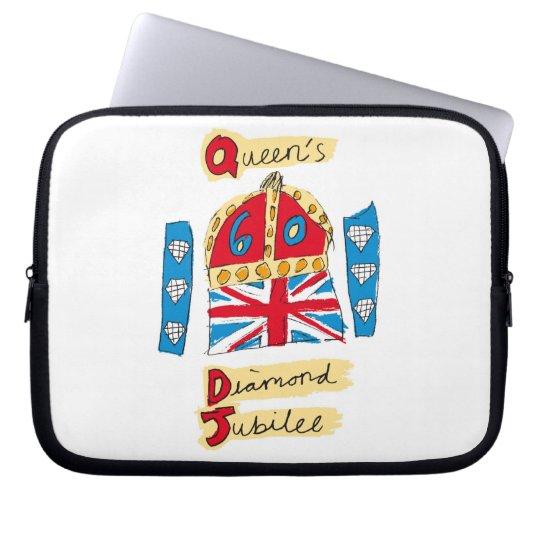 The Queen's Diamond Jubilee Emblem Laptop Sleeve