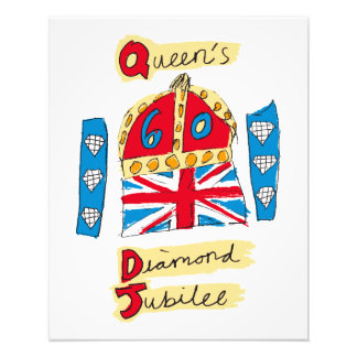 The Queen's Diamond Jubilee Emblem Photo Print