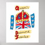 The Queen's Diamond Jubilee Emblem Poster