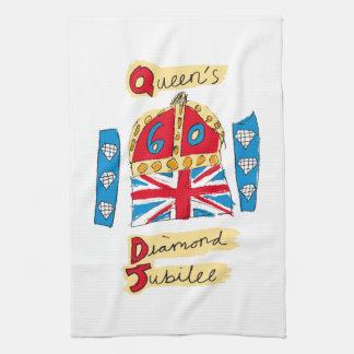 The Queen's Diamond Jubilee Hand Towel