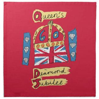 The Queen's Diamond Jubilee Napkins