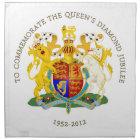 The Queen's Diamond Jubilee Napkin