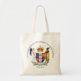 The Queen's Diamond Jubilee - New Zealand Canvas Bags