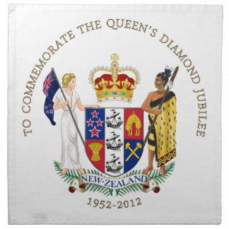 The Queen's Diamond Jubilee - New Zealand Napkin