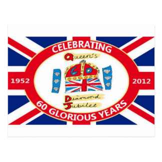 The Queen's Diamond Jubilee Postcard