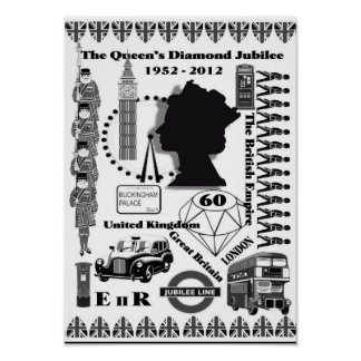 The Queens Diamond Jubilee Poster