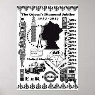 The Queens Diamond Jubilee Poster