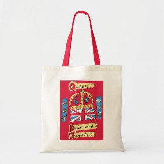 The Queen's Diamond Jubilee Tote Bag