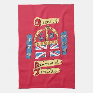 The Queen's Diamond Jubilee Towel