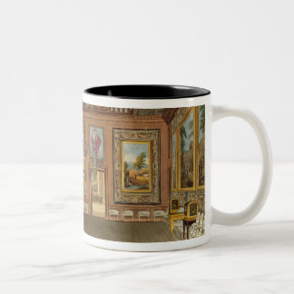 The Queen's Drawing Room, Windsor Castle, from 'Ro Two-Tone Coffee Mug