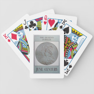 'The Queen's Jubilee 1837-87' (colour litho) Bicycle Poker Deck