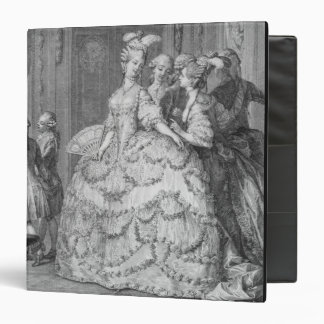 The Queen's Lady-in-Waiting, engraved by P.A. Mart Binder
